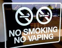 No smoking No Vaping